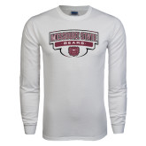 White Long Sleeve T Shirt-Arched Missouri State Bears Shield
