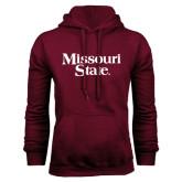 Maroon Fleece Hoodie-Missouri State