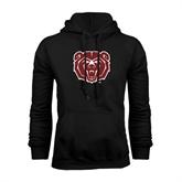 Black Fleece Hoodie-Bear Head