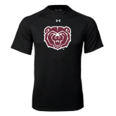 Under Armour Black Tech Tee-Bear Head