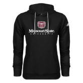 Adidas Climawarm Black Team Issue Hoodie-Missouri State University Stacked w/ Bear Head