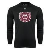 Under Armour Black Long Sleeve Tech Tee-Bear Head