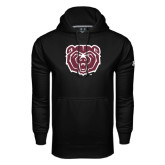Under Armour Black Performance Sweats Team Hoodie-Bear Head