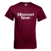 Maroon T Shirt-Missouri State