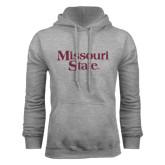 Grey Fleece Hoodie-Missouri State