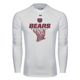 Under Armour White Long Sleeve Tech Tee-Bears Basketball Hanging Net