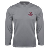 Syntrel Performance Steel Longsleeve Shirt-Bear Head Missouri State Stacked