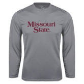 Performance Steel Longsleeve Shirt-Missouri State