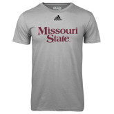 Adidas Climalite Sport Grey Ultimate Performance Tee-Missouri State