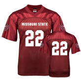 University Replica Maroon Adult Football Jersey-#22