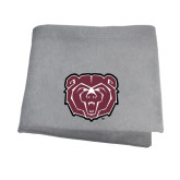 Grey Sweatshirt Blanket-Bear Head