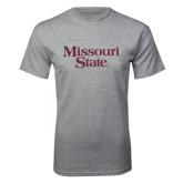 Grey T Shirt-Missouri State