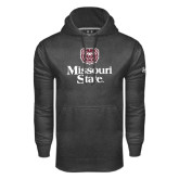 Under Armour Carbon Performance Sweats Team Hoodie-Bear Head Missouri State Stacked