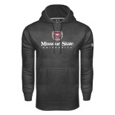 Under Armour Carbon Performance Sweats Team Hoodie-Missouri State University Stacked w/ Bear Head