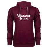 Adidas Climawarm Maroon Team Issue Hoodie-Missouri State