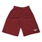 Performance Classic Maroon 9 Inch Short-Bear Head Missouri State Stacked