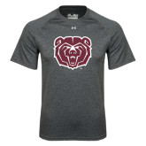 Under Armour Carbon Heather Tech Tee-Bear Head