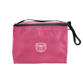 Six Pack Pink Cooler-Bear Head