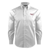 Red House White Dobby Long Sleeve Shirt-Missouri State