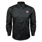 Red House Black Long Sleeve Shirt-Bear Head