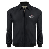 Black Players Jacket-Bear Head Missouri State Stacked