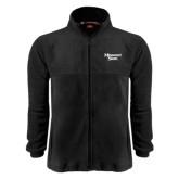 Fleece Full Zip Black Jacket-Missouri State