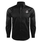 Red House Black Herringbone Long Sleeve Shirt-Bear Head Missouri State Stacked
