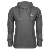 Adidas Climawarm Charcoal Team Issue Hoodie-Bear Head Missouri State Stacked