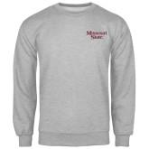 Grey Fleece Crew-Missouri State