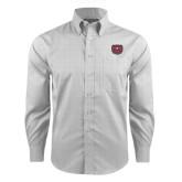 Red House Grey Plaid Long Sleeve Shirt-Bear Head