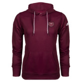 Adidas Climawarm Maroon Team Issue Hoodie-Bear Head