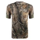Realtree Camo T Shirt w/Pocket-Bear Head
