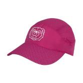 Pink Pace Setter Cap-Bear Head