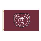 3 ft x 5 ft Flag-Bear Head