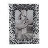 Silver Textured 4 x 6 Photo Frame-Missouri State Engraved