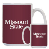 Full Color White Mug 15oz-Missouri State