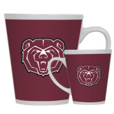 Full Color Latte Mug 12oz-Bear Head
