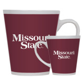 Full Color Latte Mug 12oz-Missouri State