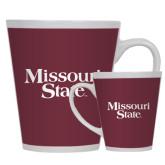 Full Color Latte Mug 12oz-Missouri State