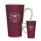 Full Color Latte Mug 17oz-Bear Head