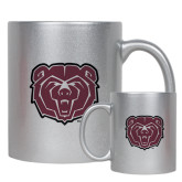 Full Color Silver Metallic Mug 11oz-Bear Head