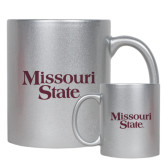 Full Color Silver Metallic Mug 11oz-Missouri State
