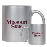 Full Color Silver Metallic Mug 11oz-Missouri State