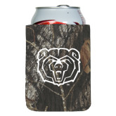 Collapsible Mossy Oak Camo Can Holder-Bear Head