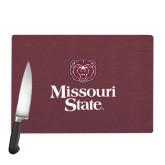 Cutting Board-Bear Head Missouri State Stacked