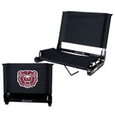 Stadium Chair Black-Bear Head