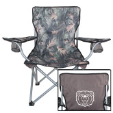 Hunt Valley Camo Captains Chair-Bear Head