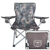 Hunt Valley Camo Captains Chair-Bear Head