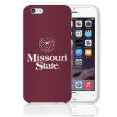 iPhone 6 Plus Phone Case-Bear Head Missouri State Stacked