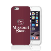 iPhone 6 Phone Case-Bear Head Missouri State Stacked